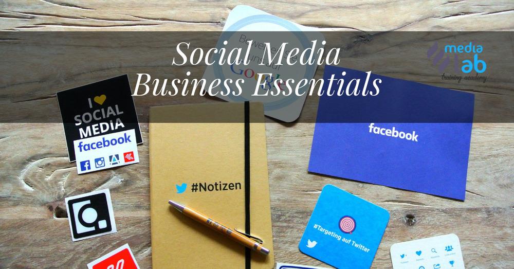 Social Media Business Essentials